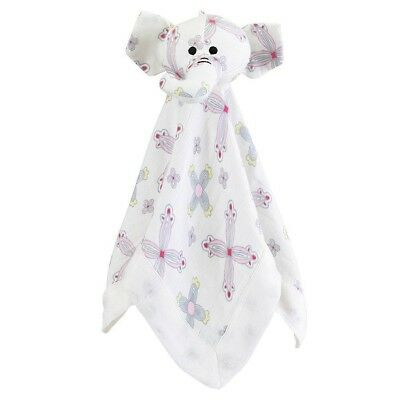 Aden and Anais Musy Mate Bamboo Lovey Baby Security Soft Comforter Toy Flower