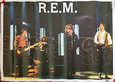 R.E.M. Lot of 3 Rare Promotional Posters from the 80s and 90s