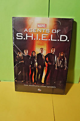 Brand New/sealed 5 Dvd Set! Marvel Agents Of Shield The Complete First Season!