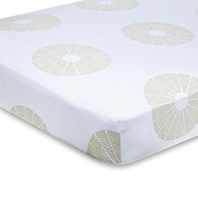 Aden+ Anais Fitted Cot Sheet Baby Organic Cotton Muslin New  - Oasis