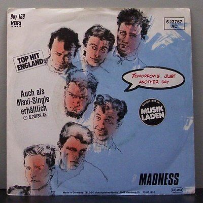 "(o) Madness - Tomorrow's Just Another Day (7"" Single)"