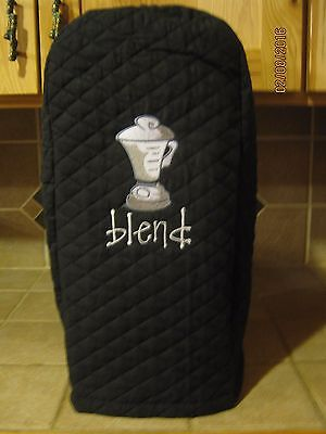 New Blender Appliance Cover, Comes in Black, Red or Cream / Ivory Color