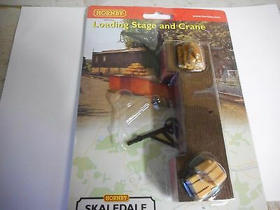 Hornby Oo/ho  Loading Stage With Crane