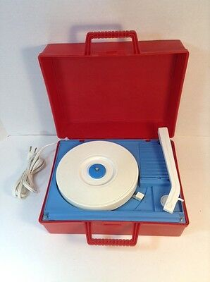Vintage Simpsons-Sears Record Player Portable Record Player Model 17193 Working