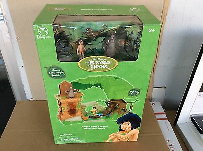 Disney Store JUNGLE BOOK Electronic Playset MOWGLI, BALOO Exclusive PVC Figures