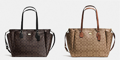 New Coach Signature Baby Bag F35414 Fast Ship!