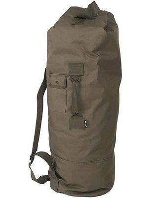 US Seesack m.Doppelgurt pes, Camping, Outdoor, Military -NEU