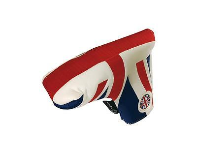 UK/England Traditional Golf Putter Cover