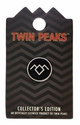 Twin Peaks Owl Cave Glyph Collector Edition Pin Brand New on Card  David Lynch