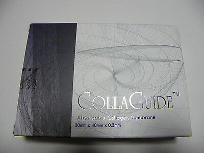 Dental Absorbable Collagen Membrane(CollaGuide)  30mm *40mm*0.3mm