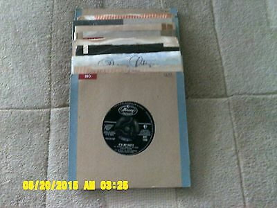 10 x 45 RPM SINGLES -  FEMALE ARTISTS OF THE 60's  (see detail).