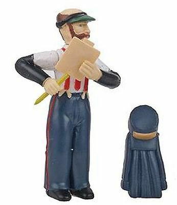 Bachmann 92313 G Station Agent w/Coat & Hat;