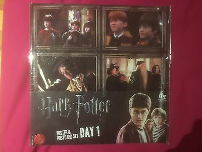 Harry Potter Poster and Postcard set Day 1