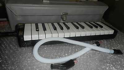 Hohner Melodica piano 26-Germany-TOP Condition-Mit extra Schlauch u.Mundstück