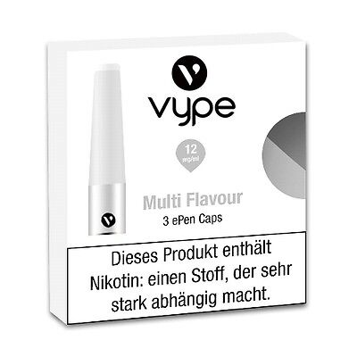 Liquidpatrone Vype Epen Multi Flavour Refill 12 mg/ml à 3 Caps / 98424