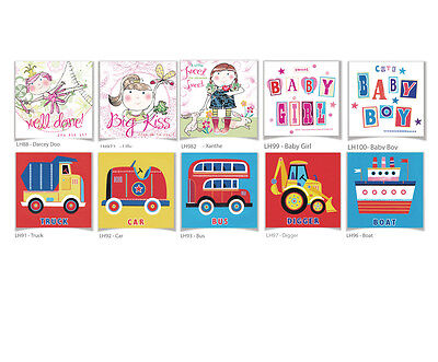 100 Wholesale Greetings Cards 'Childrens & New Baby' - Top Quality