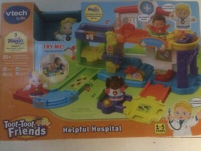 Vtech Toot Toot Friends Helpful Hospital Toy 1-5 Years BRAND NEW IN BOX