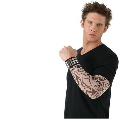 Tattoo Sleeves - Tribal - Set of 4 Different Designs - Adult Costume Accessory