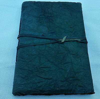 Handmade Notebook Leather Diary Blank Vintage Cover Pocket