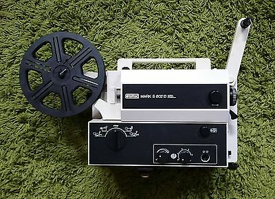 EUMIG Mark S-802 D SUPER 8MM CINE FILM SOUND PROJECTOR