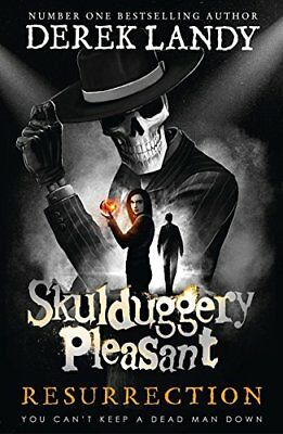 Resurrection (Skulduggery Pleasant Book 10) by Derek Landy New Hardback Book