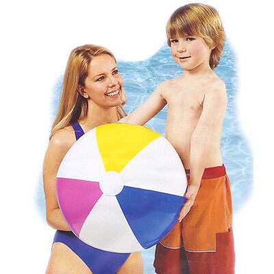 "Intex Glossy 16"" 20"" 24"" & Jumbo 42"" Panel Colorful Inflatable Beach Balls"
