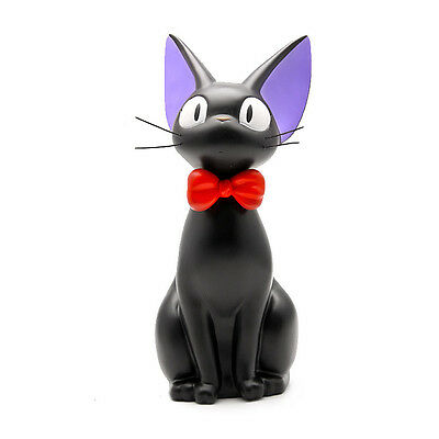 Japan Ghibli Anime Kiki's Delivery Service Jiji Black Cat Piggy Bank Statue Gift