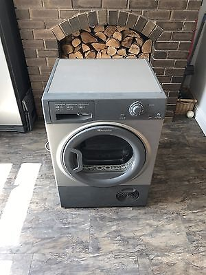 Hotpoint Graphite 7KG Condenser Tumble Dryer Just Serviced New Heater And Timer