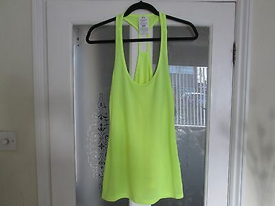 Ladies Under Armour Summer Running, Training, Fitness Vest, Extra Large New