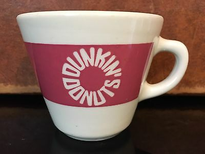 Dunkin' Donuts Vintage Rare Homer Laughlin USA Coffee Cup Mug Diner 1960's-70's