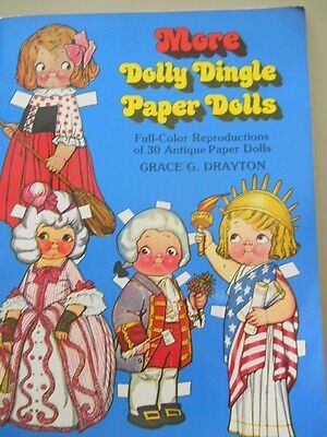 More Dolly Dingle 1979 Full-Color Reproductions Uncut Paper Dolls Grace Drayton