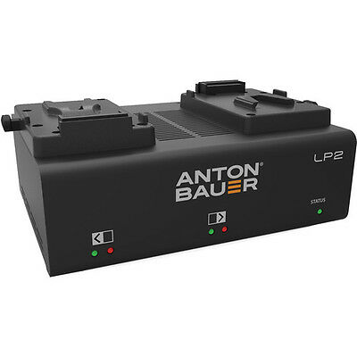 New Anton Bauer LP2 Low Profile Dual V-Mount Battery Charger with LED