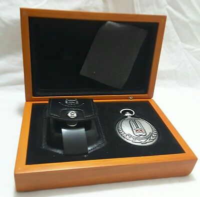 Officially Authorised Legendary Holden Pocket Watch and leather Belt Pouch