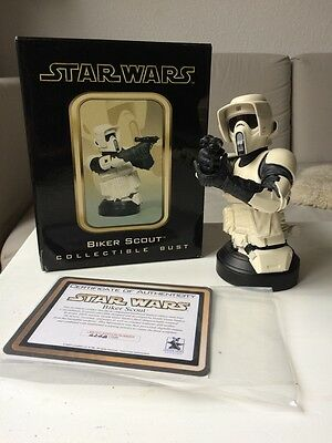 """Star Wars Gentle Giant """"Biker Scout"""", no Hot Toys or Sideshow"""
