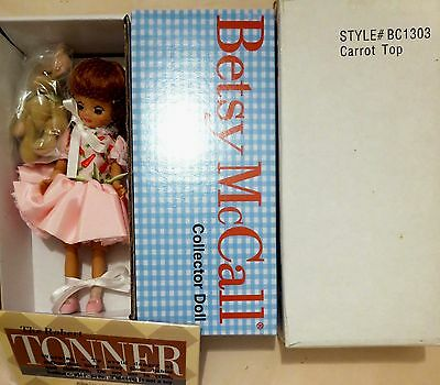 """*CARROT TOP* TONNER 2003 TINY BETSY MCCALL 8"""" New in shipper  NRFB"""