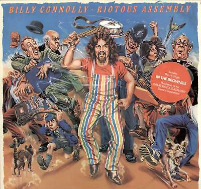 Billy Connolly ~ Riotous Assembly ~ 1979 Uk 10-Track Lp ~ Polydor 2383 543