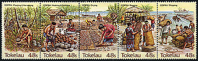 Tokelau 1984 SG#103-7 Copra Industry MNH Set #D49853