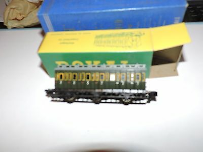 ROKAL TT (1:120th) SCALE ABTEILWAGEN  COMPARTMENT CAR  # 01282 IN BOX