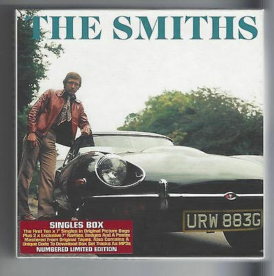 The Smiths Uk 7'' Singles Box Set  In  N/mint/ Mint  Con