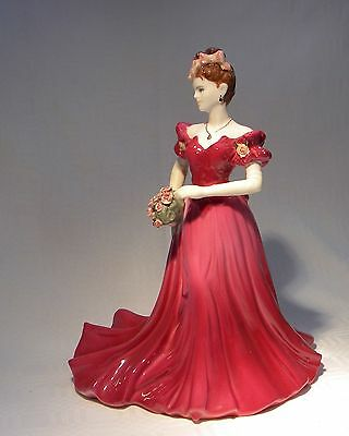 Coalport Figurine Ladies Of Fashion Jenny