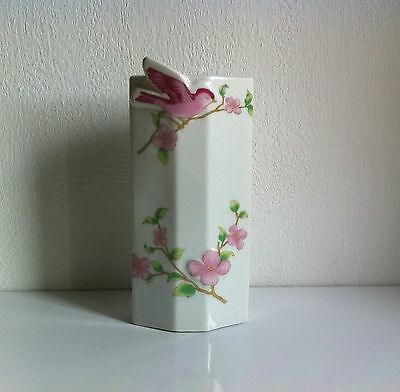 Vintage China  Dry Air Humidifier Moisturiser To Hang On Radiator Bird Floral