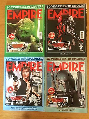4 Empire Magazine Lot Collection Issues Bundle Star Wars Limited Covers