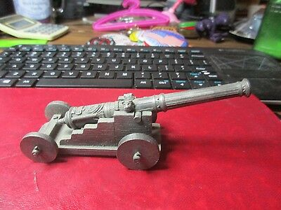 Pewter Early Cannon