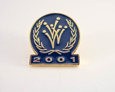 VVV 2001 Pin - Lapel Pin - PinBack - Brooch