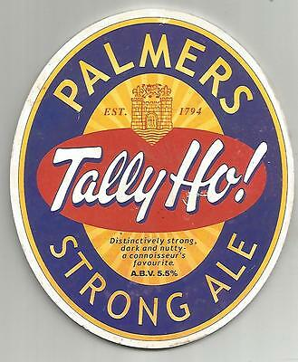 Palmers Brewery - TALLY HO! - STRONG ALE - Beer Pump Clip Front