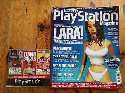 Official UK PlayStation Magazine - Issue 52 + Demo Disc - Tomb Raider Lara Croft