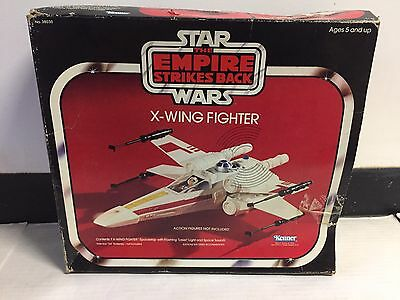 Star Wars Rare Esb X Wing Fighter Kenner Vintage 1980 Box Only Cloud City Yoda