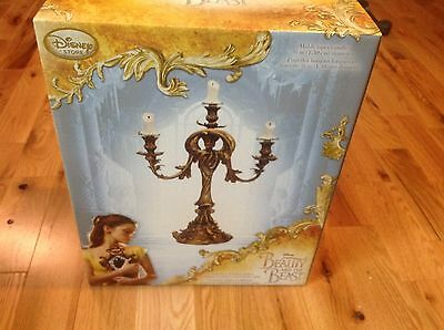 Disney Beauty and the Beast Limited Edition Lumiere Figurine RARE #512/2000!