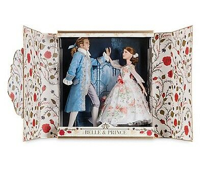 Limited edition beauty and the beast platinum label doll set!  Ships from Canada