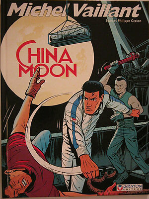 Michel Vaillant ** Tome 68 China Moon  ** Eo Neuf Avec Autocollants  Graton